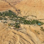 Ein Gedi Dead Sea from the air